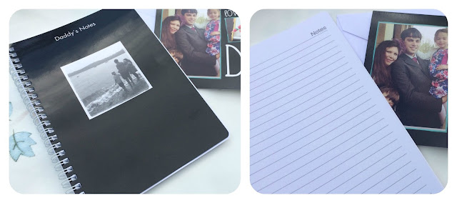 father's day photo notebook
