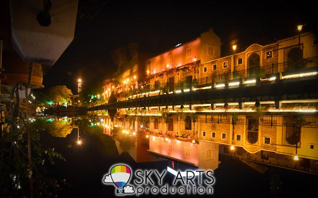 Melaka River Night Scenery