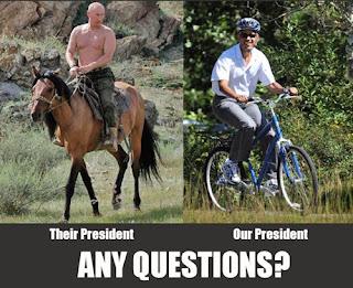 OBAMA vs PUTIN: Βρείτε τις διαφορές! Θα πέσετε από τα γέλια