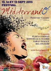 festival MéditerranéO': cartel