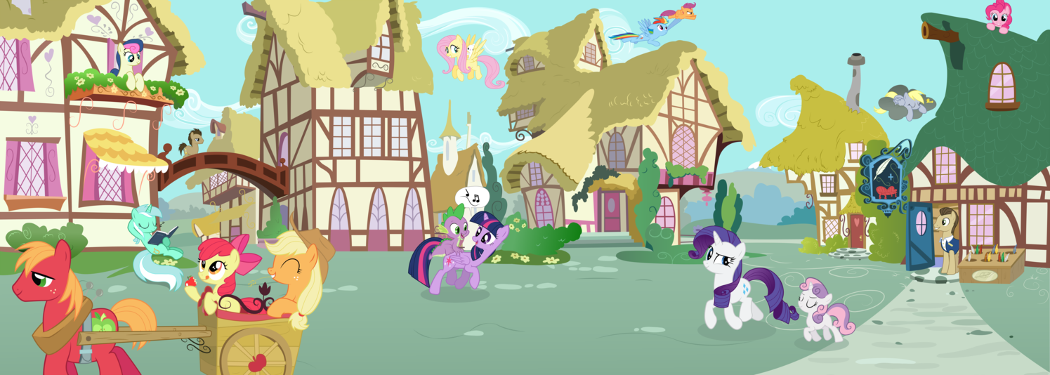 shelter from the storm retreat to ponyville