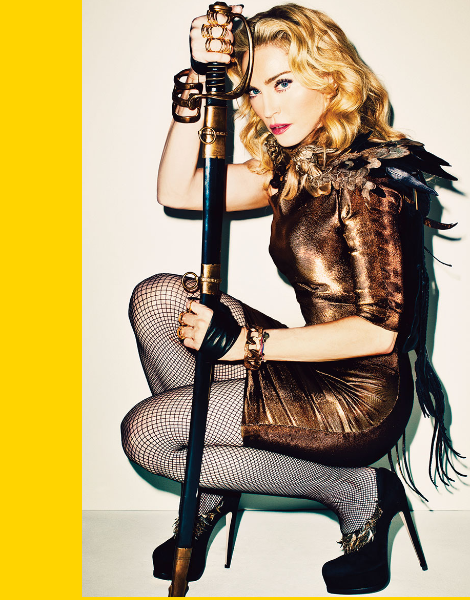 Madonna by Terry Richardson for Harper's Bazaar November 2013 Cover Story