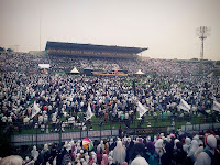 Istighatsah dan Nasyid Khilafah T'lah Kembali Buka Muktamar Khilafah di Surabaya