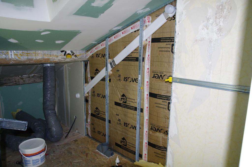 Notre maison en cours de r novation novembre 2012 - Gaine plate vmc ...