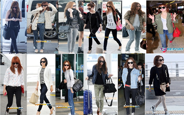 Princess 39 Attic Korean Celebrities 39 Airport Fashion