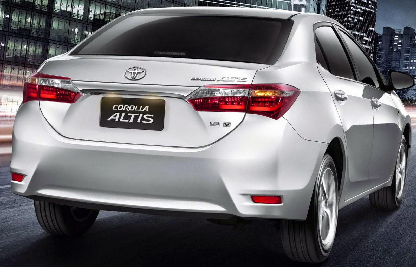 Novo Corolla 2015 fotos sedan altis automatico