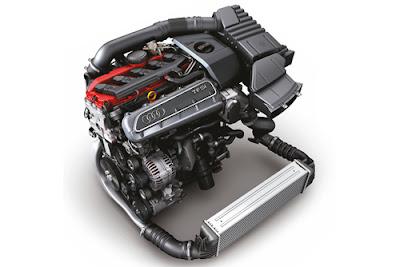 Moteur Audi 2.5 L TFSI : Élu moteur de l'année 2012