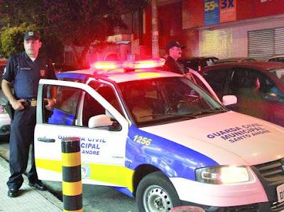 GCMs de Santo André protestam contra Operação Delegada
