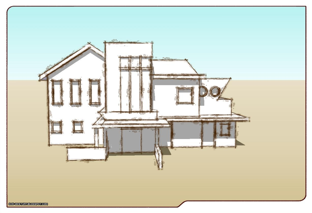 Modeling: Drawn Together House