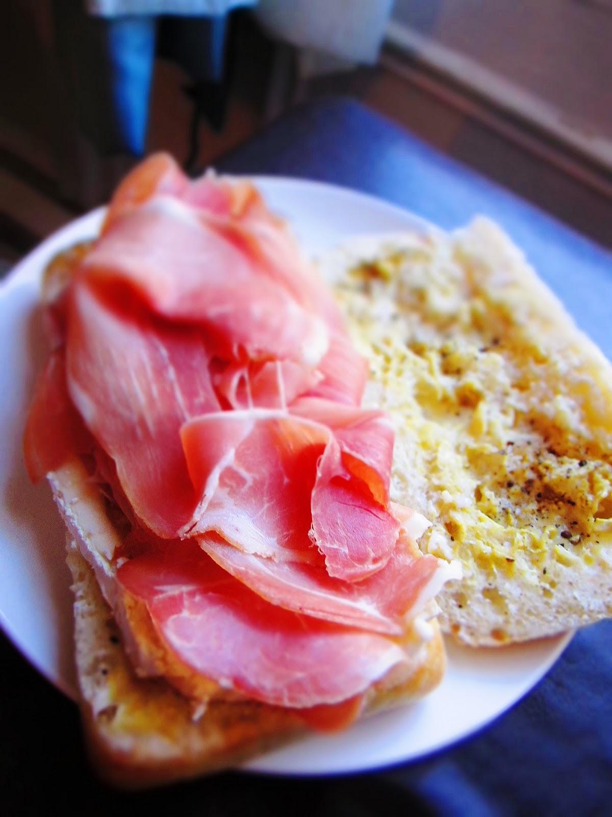 Two Recipes: Prosciutto and Brie Sandwich