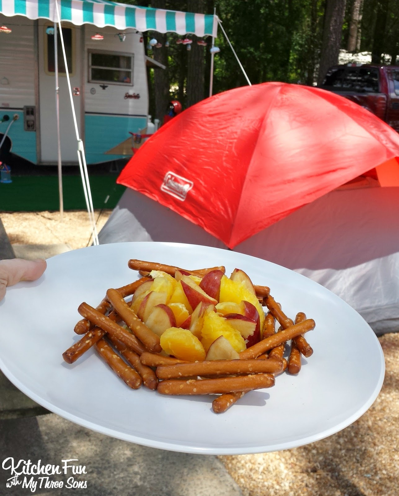 Healthy Camping Food Ideas Recipes: Fun Camping Ideas For Kids. Camping Recipes And Fun
