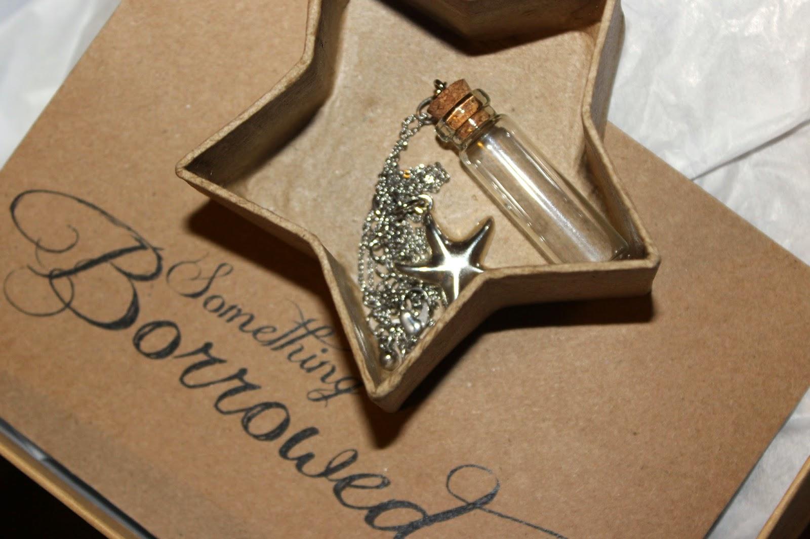 ... , something new, something borrowed,something blue bridal shower gift