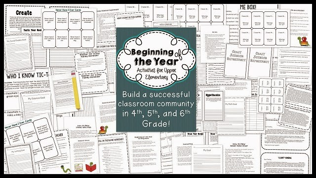 http://www.teacherspayteachers.com/Product/Beginning-of-the-Year-Activities-for-Secondary-Start-the-Year-off-Right-782652