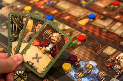 Detalle Rococó, el juego de mesa