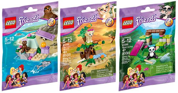LEGO® Friends Animaux - Série 6