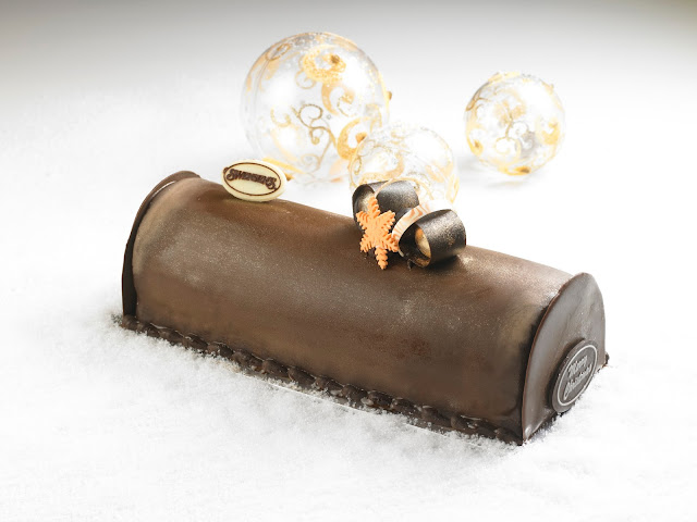 Swensen's Ice Cream Log Cakes - Merry Sticky Chewy Chocolate