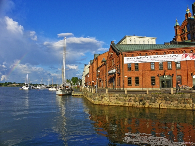 El puerto de Helsinki