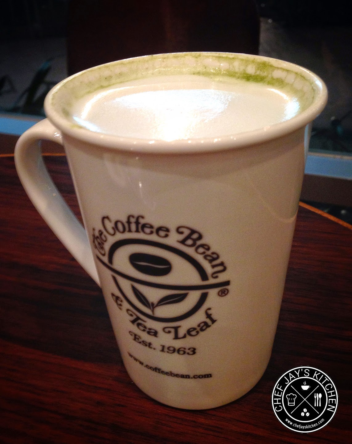 The Coffee Bean & Tea Leaf - CBTL Matcha Tea Latte