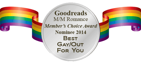 Goodreads M/M Group Member's Choice Award 2014 - Nominee