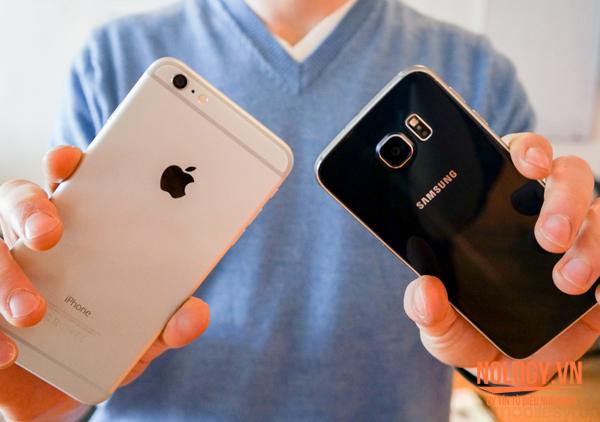 IPhone 6 Plus lock và Samsung Galaxy S6 đọ tài chụp ảnh.