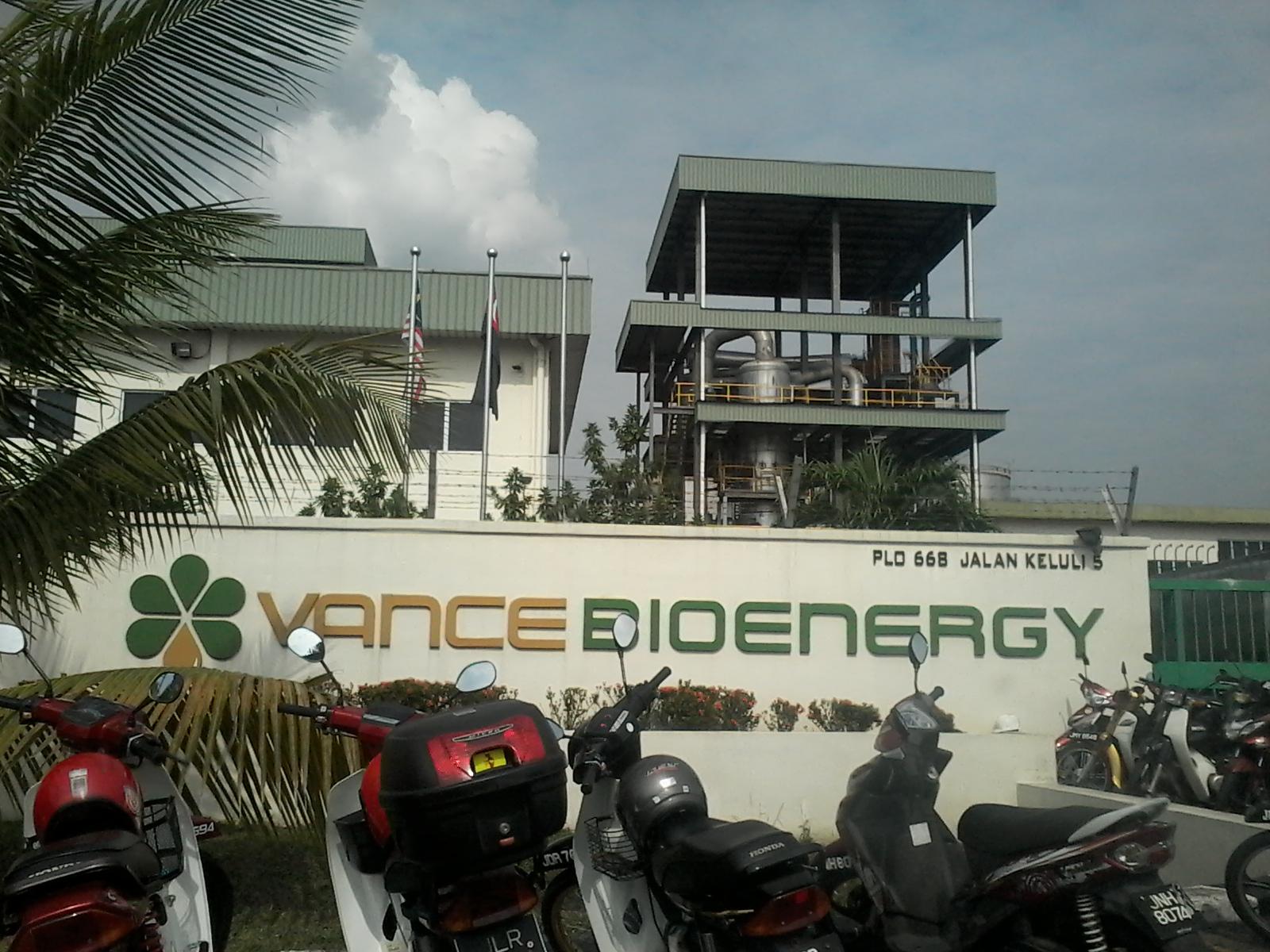 Intergrated Logistics And The Supply Chain Vance Bioenergy Sdn Bhd