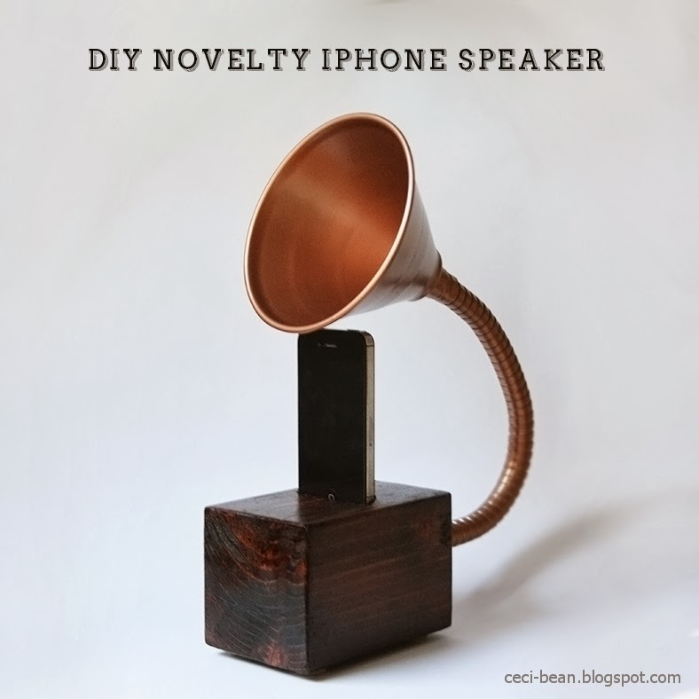 DIY Gramophone iPhone Speaker