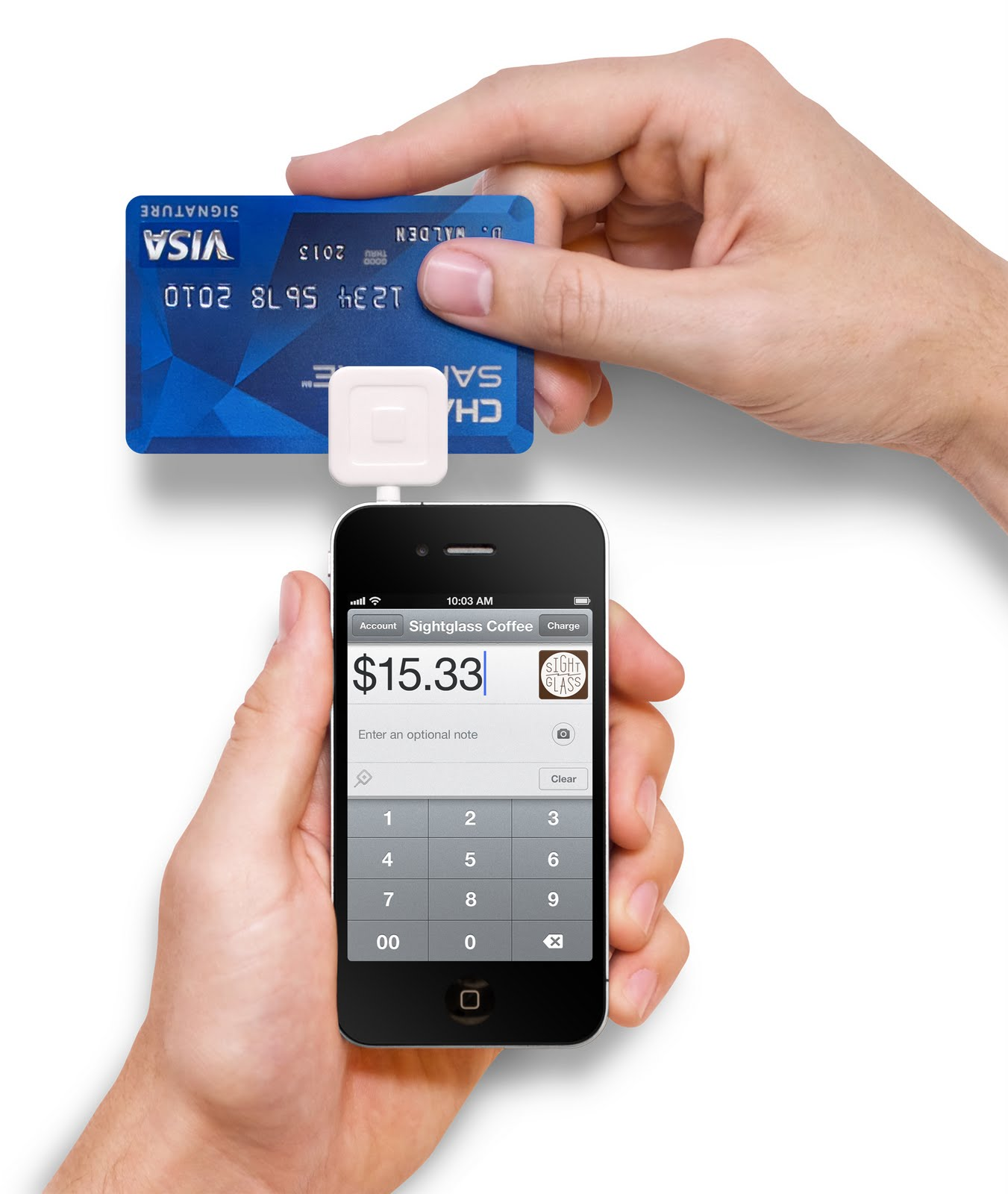 credit card machine for iphones