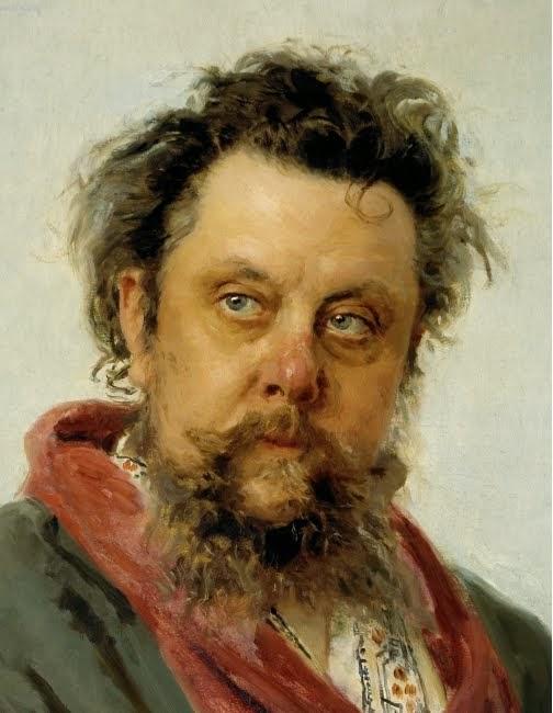 Mussorgski. Retrato de Ilya Repin