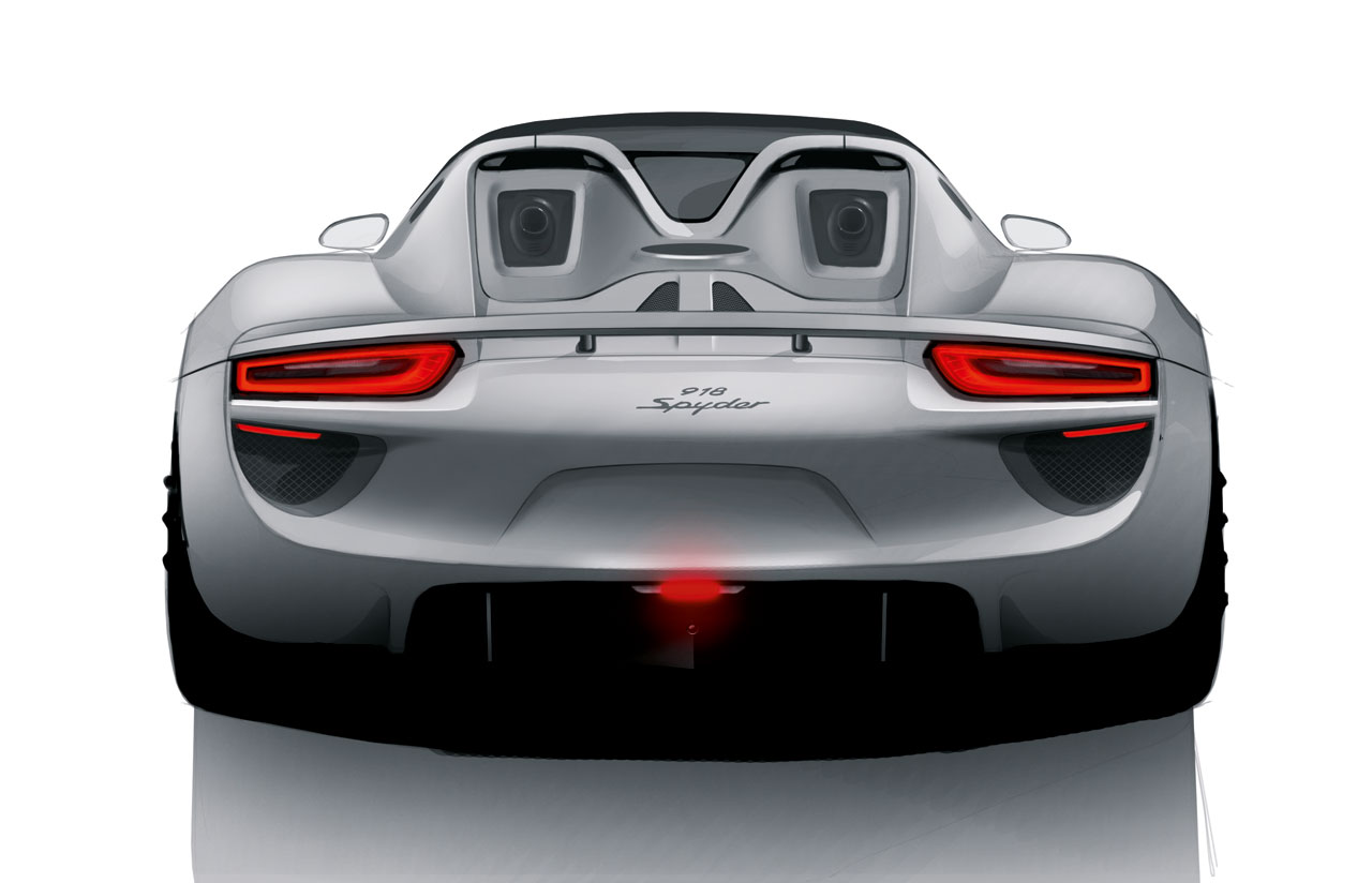 porsche 918 spyder design concept auto car reviews. Black Bedroom Furniture Sets. Home Design Ideas