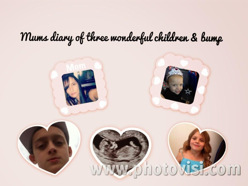 Mums diary of three wonderful children xxx