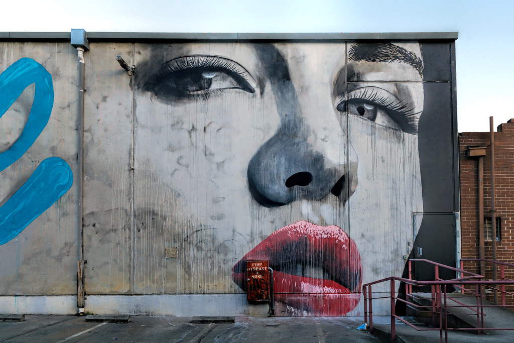Rone x wonderlust new mural in melbourne australia for Define mural painting