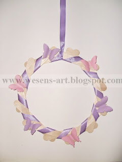 SpringWreath 10     wesens-art.blogspot.com