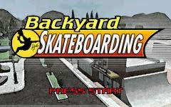 Backyard Skate Boarding