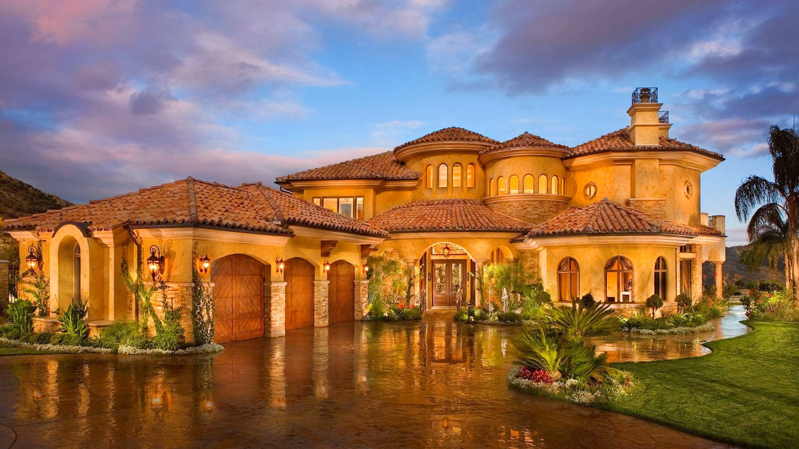 Tricked out mansions showcasing luxury houses how to do for California million dollar homes