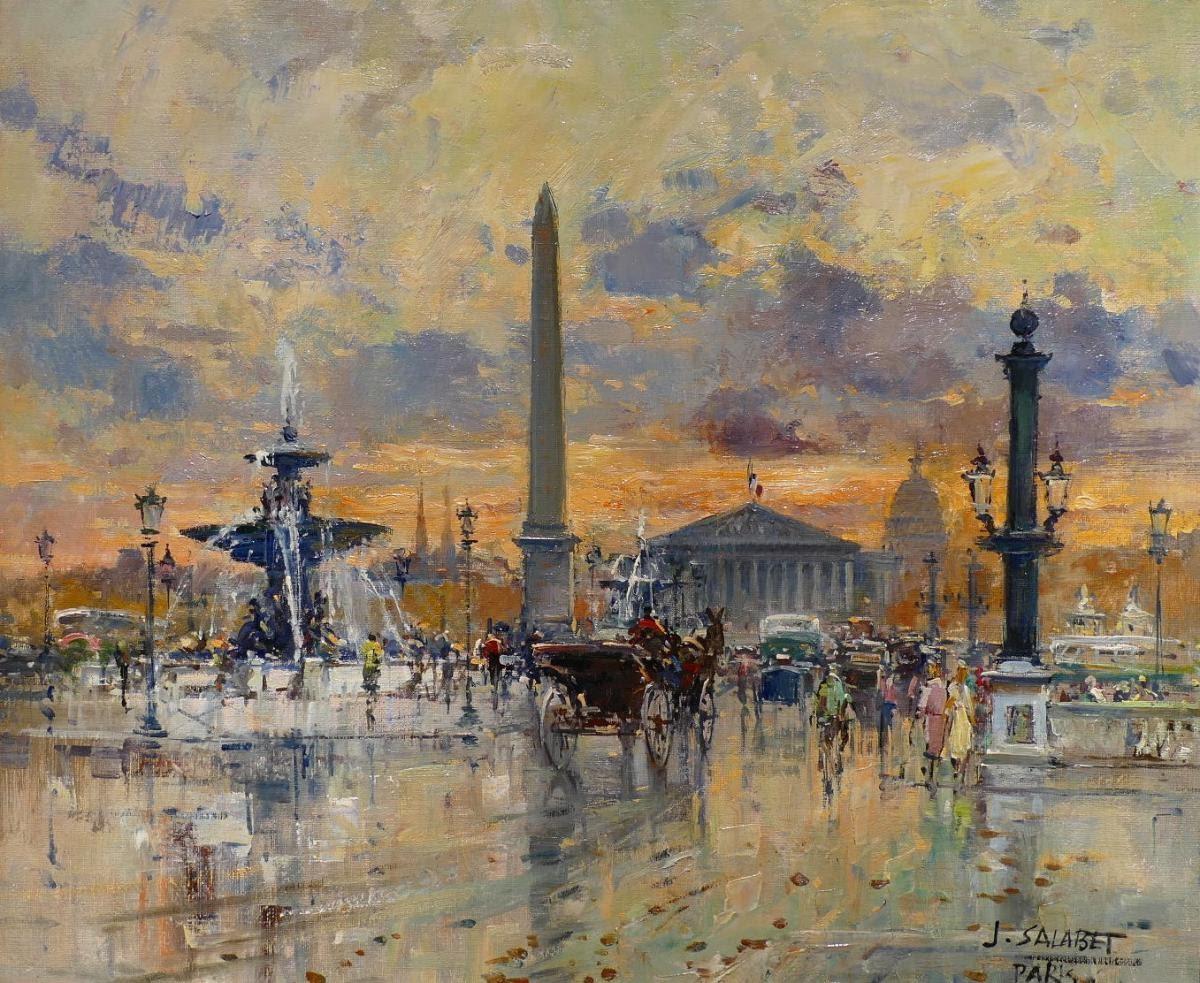 Jean Salabet Paris Place of the Concorde