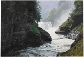 Painting of the Lower Falls