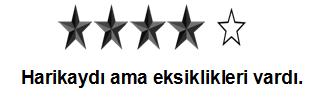 4 Yıldız
