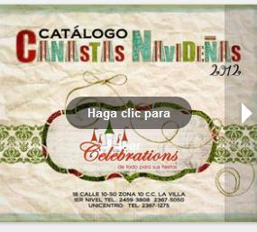 canastas navidad 2012 gt