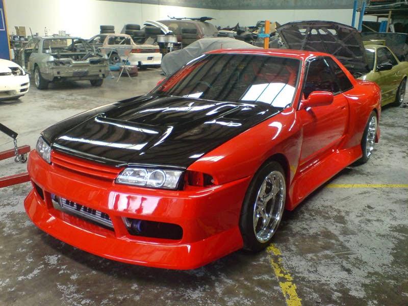 gambar modifikasi mobil ford laser