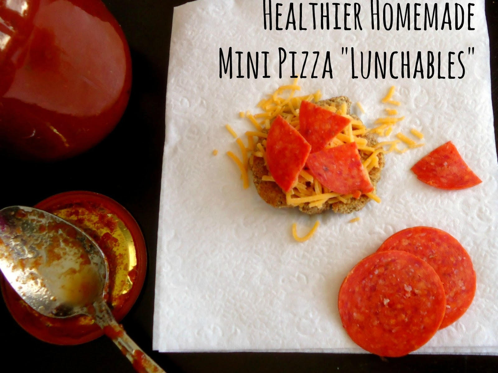how to make lunchables pizza