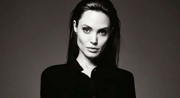 Angelina Jolie By Hedi Slimane For Us Elle June 2014