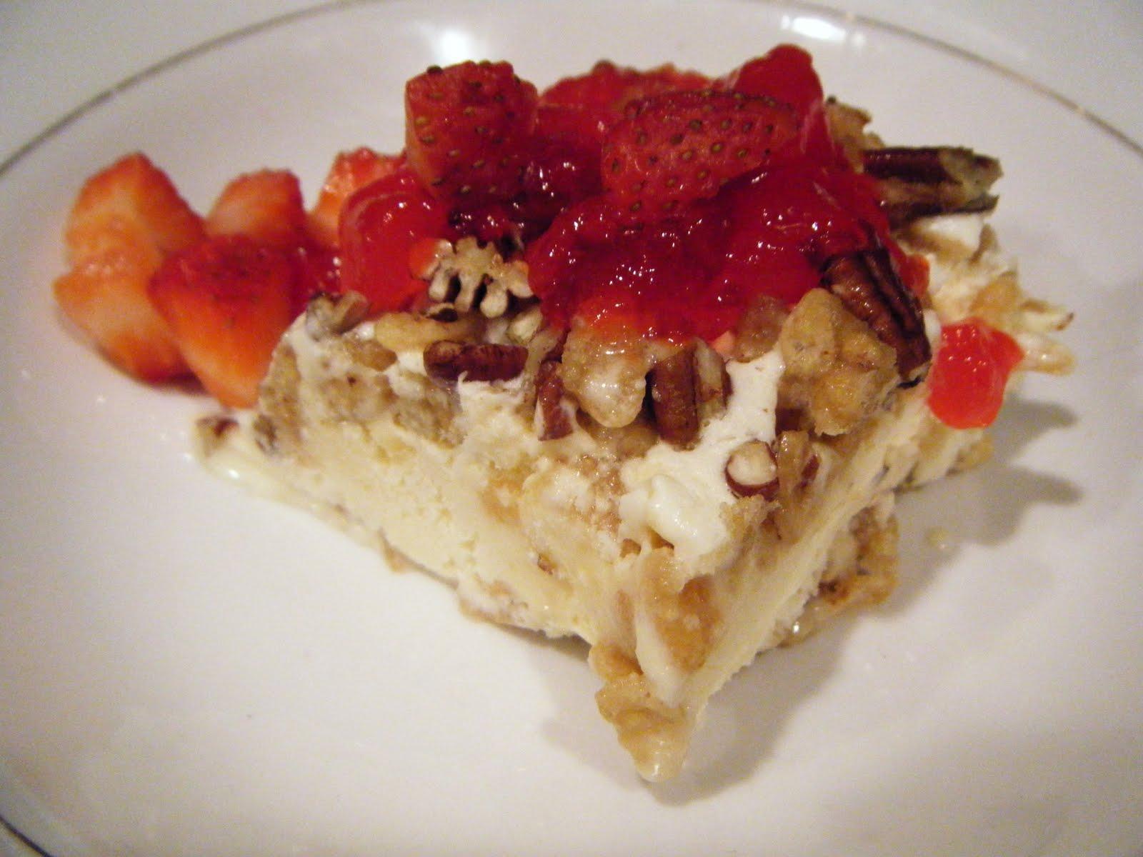 Strawberry Danish Dessert