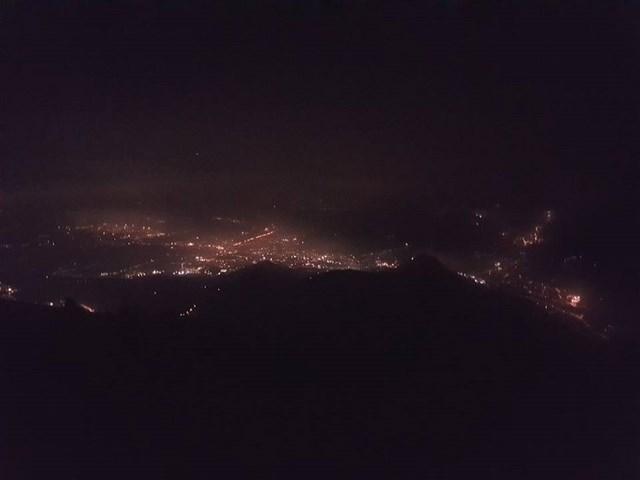Vittorio Veneto notturno dal Pizzoc