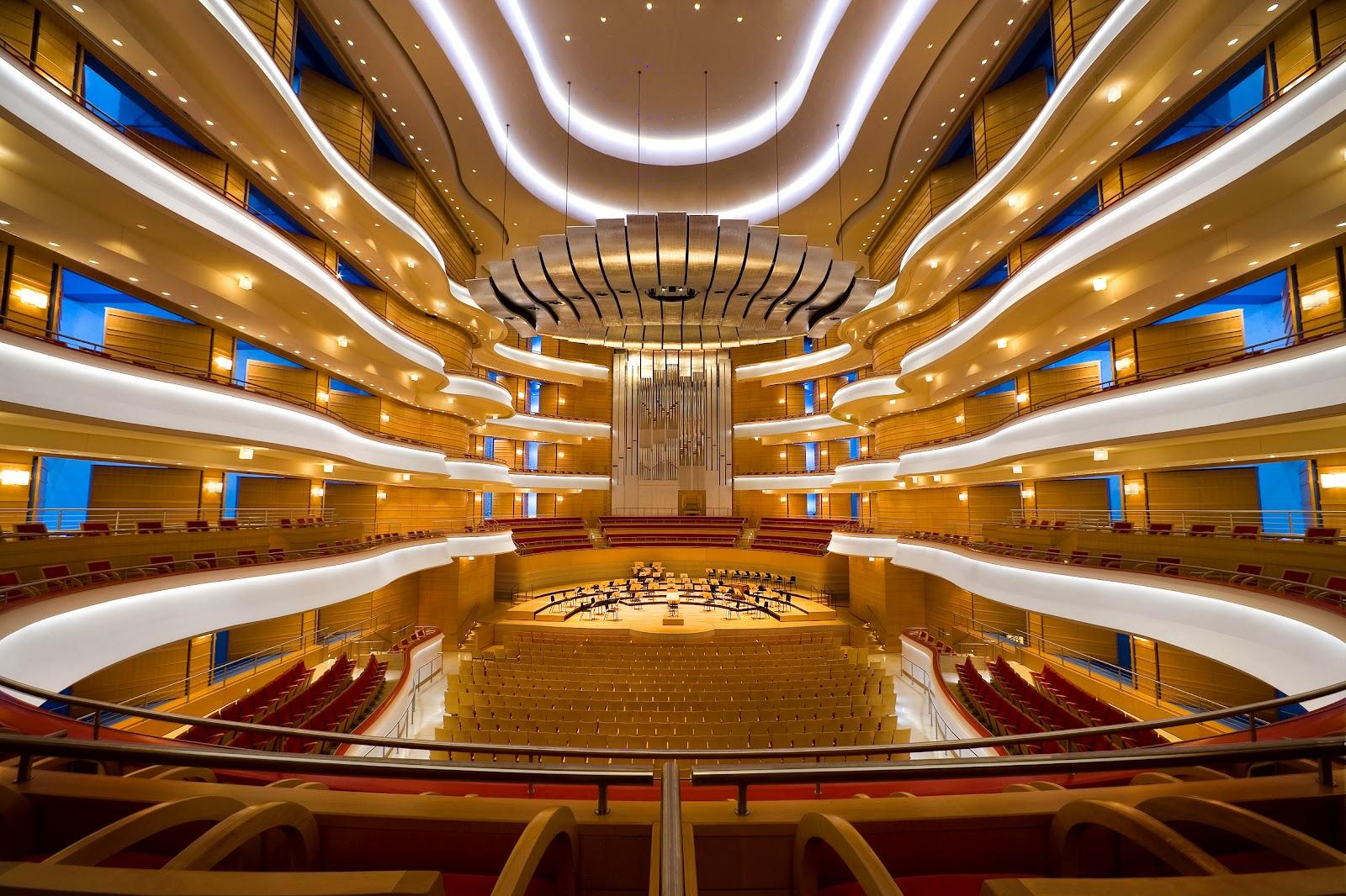 Center Scene Segerstrom Center S Concert Hall Acoustician