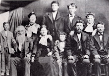 From left to right sitting: William John Barton, Sarah Esther West