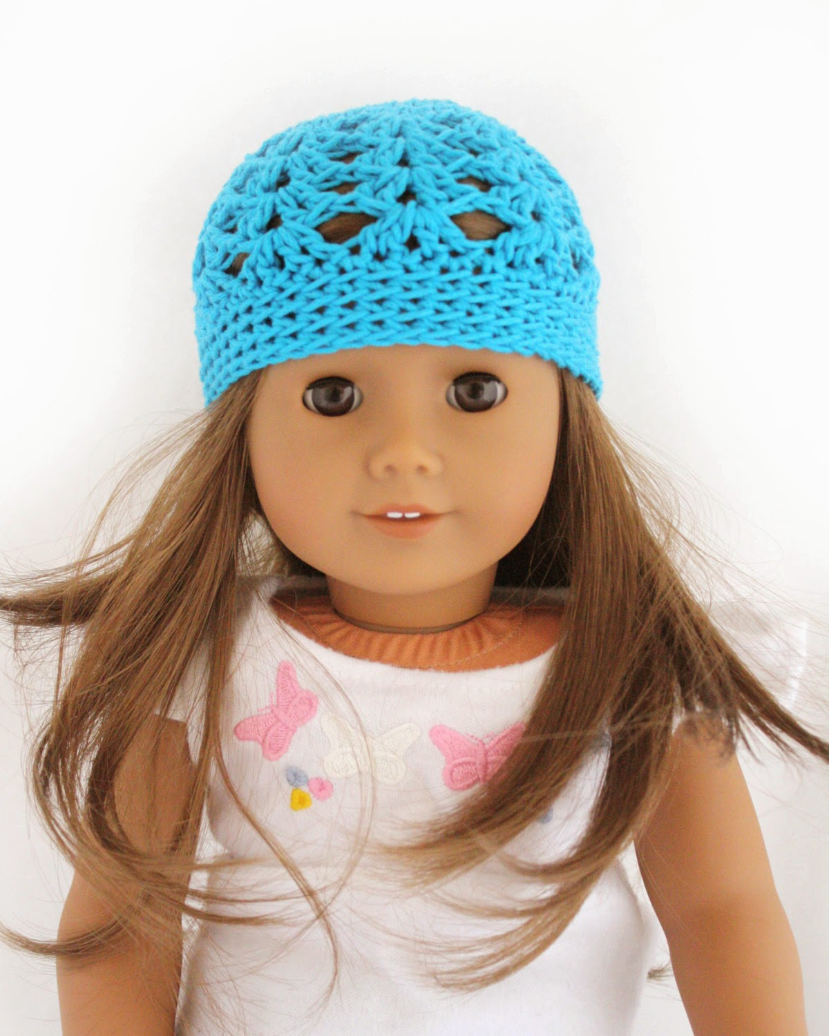 Crochet Hat Pattern American Girl Doll : Little Abbee: TUTORIAL: American Girl Crochet Hat