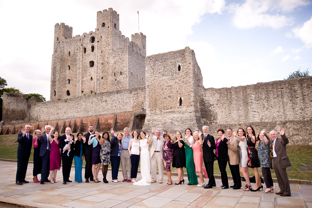 Rochester Castle Wedding Photographer