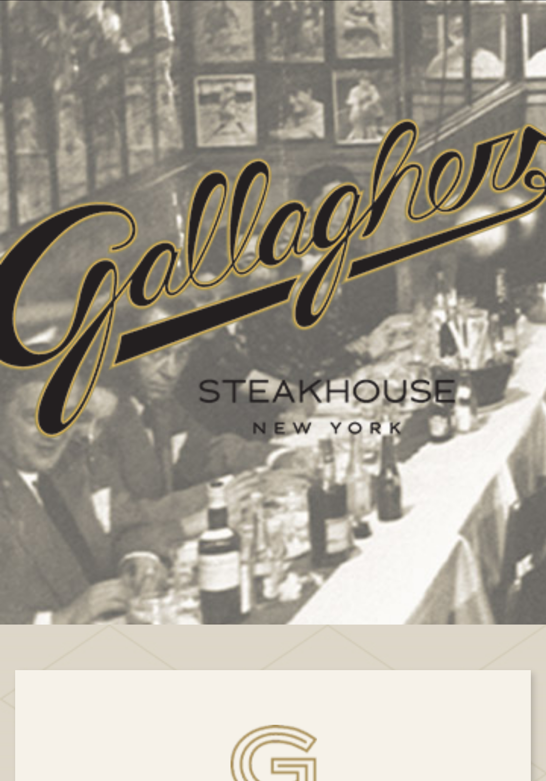 I have never been to Gallaghers but when I read reviews it had to be in New Beginnings