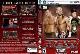 WWE Raw Ultimate Impacto 2009 PC DVD Capa