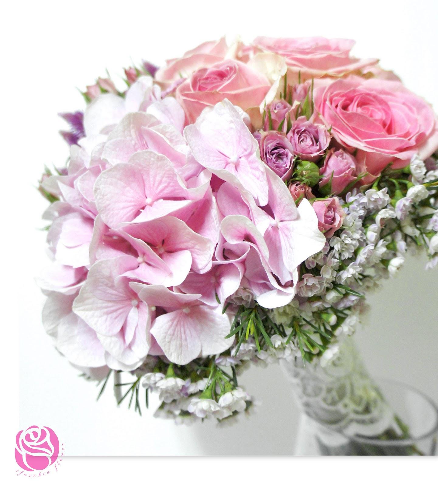Bridal Bouquet Hk : Ifuschia flower bridal bouquet for yumi s pre